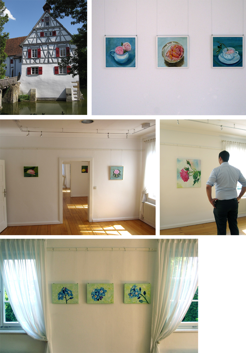 Ausstellung-Holzgrlingen-Blumengemälde